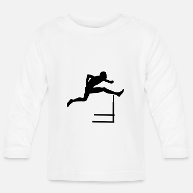 Hurdles Hurdles athletics - Baby Long Sleeve T-Shirt