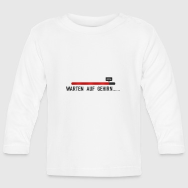 Waiting for Brain, Waiting for Brain - Baby Long Sleeve T-Shirt