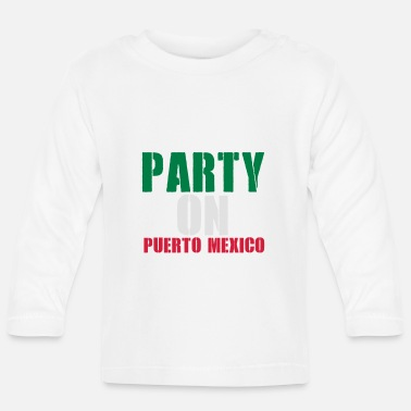 Spring Break PARTY ON SPRING BREAK - T-shirt manches longues Bébé