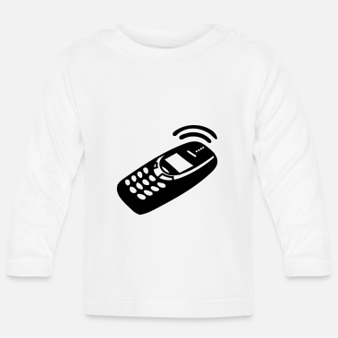 Mobile Phone Mobile Phone - Baby Longsleeve Shirt