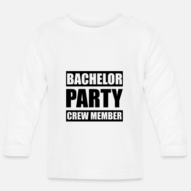 Stag Do Bachelor Party Crew - Stag do - Baby Longsleeve Shirt