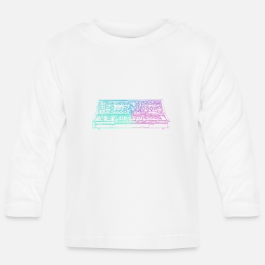 Synthesizer Synthesizer - Baby longsleeve