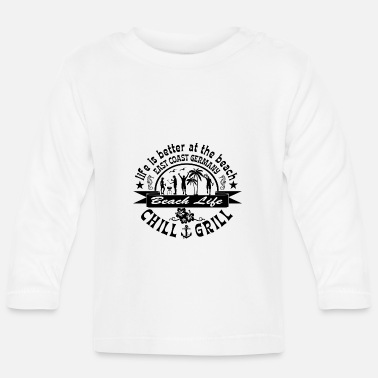 East Coast Chill Grill East Coast - Baby Longsleeve Shirt