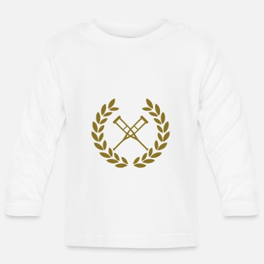 Crutches crutches deluxe - Baby Longsleeve Shirt