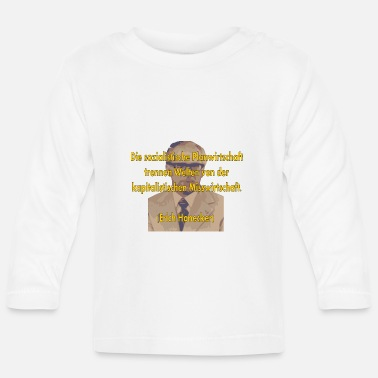 Mismanagement socialist planned economy - Baby Longsleeve Shirt