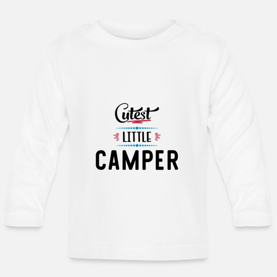 Camper Baby Clothes - camper - Baby Longsleeve Shirt white
