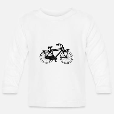 Dutch Bike Bicycle / Dutch bicycle - Baby Long Sleeve T-Shirt