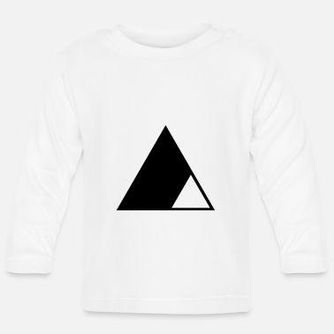 Triangle Triangle in the triangle - Baby Longsleeve Shirt