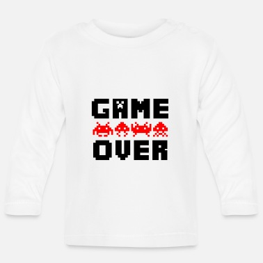 Game Over game over - Baby Langarmshirt