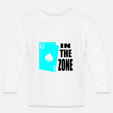 Holdem poker, azen, in de zone - T-shirt