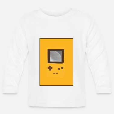 Game Boy Game Boy Nostalgia - Laurids B Design - T-shirt manches longues Bébé