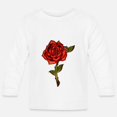 Red Rose Red Rose - Baby Longsleeve Shirt