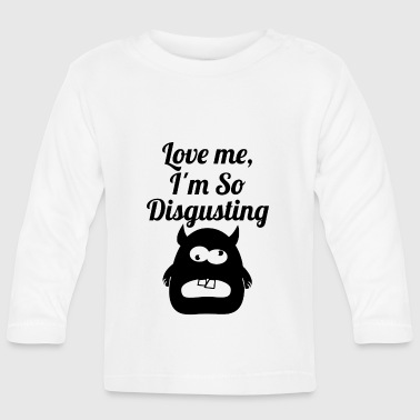 disgusting blak - Baby Long Sleeve T-Shirt