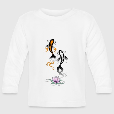 Koi fish 2 - Baby Long Sleeve T-Shirt