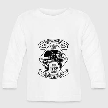 Motorsport helmet - Baby Long Sleeve T-Shirt