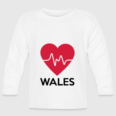 heart Wales - Baby Long Sleeve T-Shirt