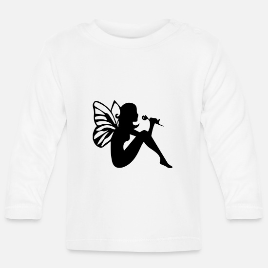Wife Baby Clothes - WOMAN COLLECTION - Baby Longsleeve Shirt white