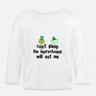 Divertente Irlandese Divertente irlandesi folletti - Maglietta maniche  lunghe neonato 0e02899472b