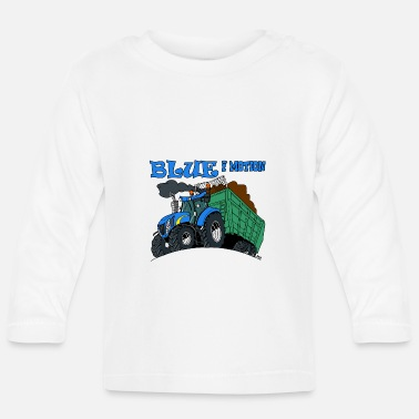 Motion Blue in motion - Baby Longsleeve Shirt
