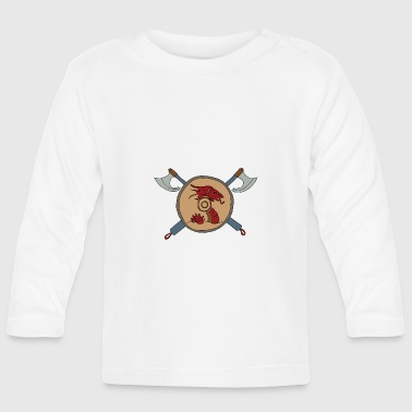 Viking Shield Vikings - T-shirt manches longues Bébé
