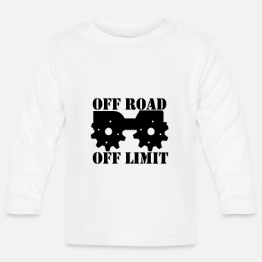 Off Off Road Off Limit - Långärmad baby T-shirt