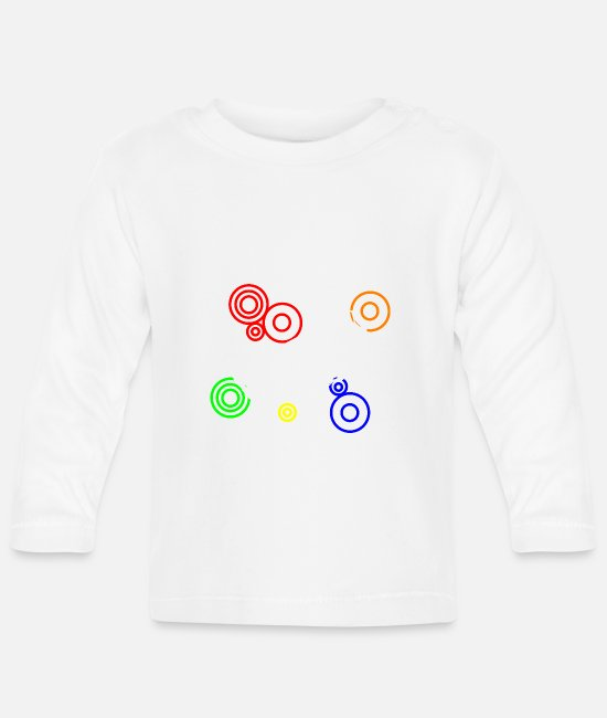 Cars Baby Long Sleeve Shirts - Funky Caterham - Baby Longsleeve Shirt white