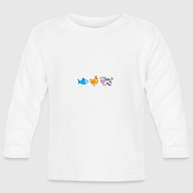 Vegan for the Voiceless Vegan T-Shirt - Baby Long Sleeve T-Shirt
