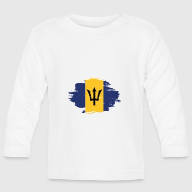 habitat flag love origin Barbados png - Baby Long Sleeve T-Shirt