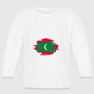 habitat flag love origin Maldives png - Baby Long Sleeve T-Shirt