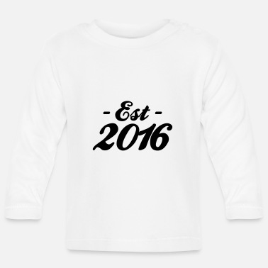 Established established 2016 - Baby Longsleeve Shirt