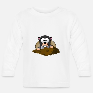 Animal Animal Animals Mole - Baby Longsleeve Shirt