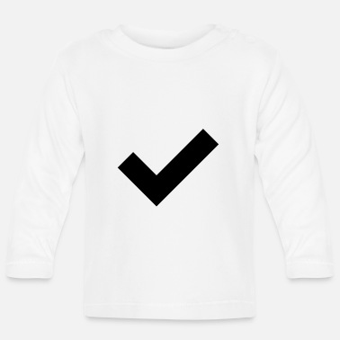 accept check agree - Baby Longsleeve Shirt