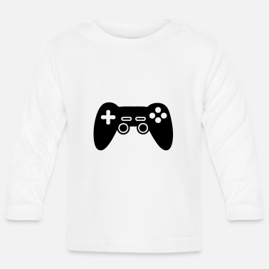 Video Game Console video game console, joystick - Baby Longsleeve Shirt
