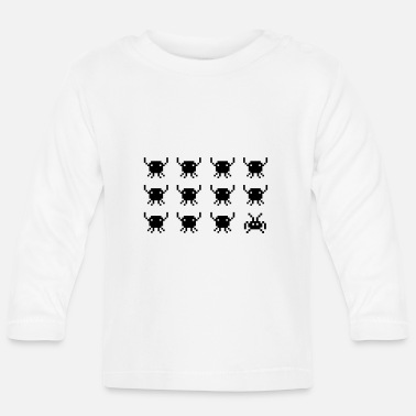 Old School retro_game_2_f1 - Baby Longsleeve Shirt