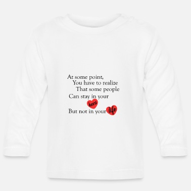 Cool Quote love quotes cool - Baby Longsleeve Shirt