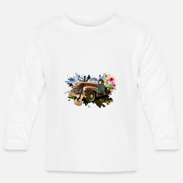 Pickup Lijn Old Pickup Guitar - Baby longsleeve
