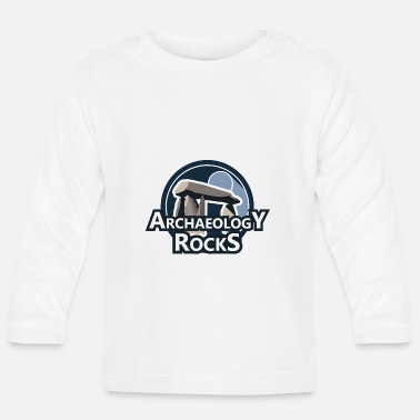 Archaeology Archaeology Rocks Graphic Logo - Baby Longsleeve Shirt