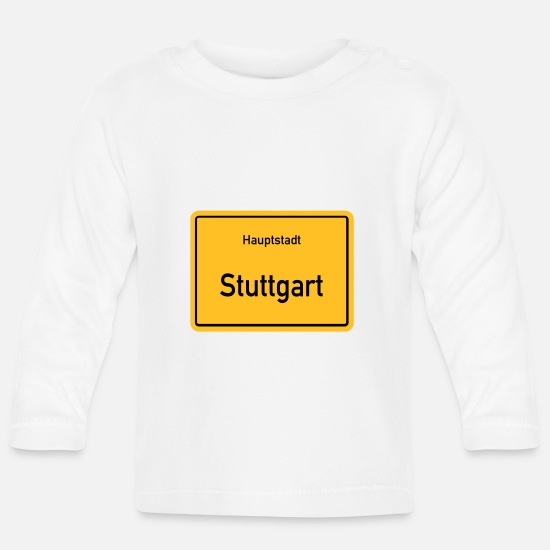 Capital Baby Clothes - capital Stuttgart - Baby Longsleeve Shirt white