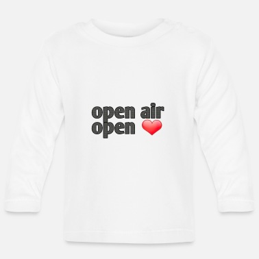Open Air Open Air open hearts summer logo - Baby Longsleeve Shirt