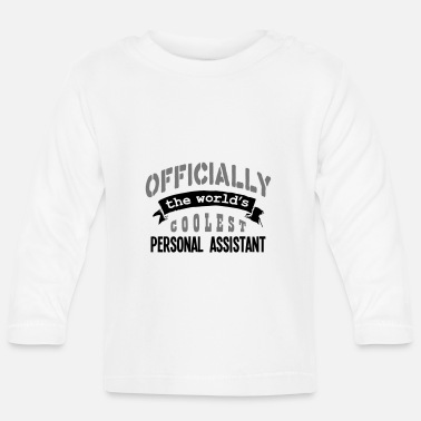 Official Person personal assistant officially the worlds - Baby Longsleeve Shirt
