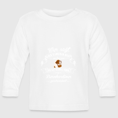 St. Bernard happiness - Baby Long Sleeve T-Shirt