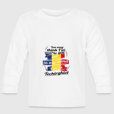 Techie HOLIDAYS Romania ROOTS TRAVEL IM IN Romania Techi - Baby Long Sleeve T-Shirt
