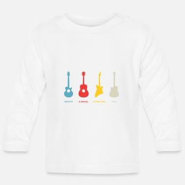 Metal Guitars Type - Baby Longsleeve Shirt