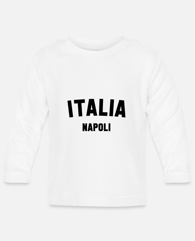 Sicily Baby Long-Sleeved Shirts - NEAPEL - Baby Longsleeve Shirt white