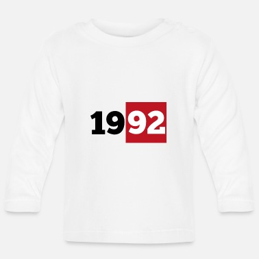 Year Of Birth 1992 year of birth - Baby Longsleeve Shirt