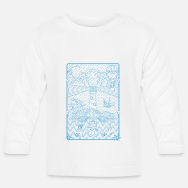 Old School Old school tattoo - T-shirt manches longues Bébé