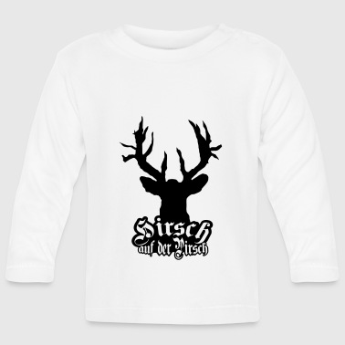 Cult Deer on the stalking cult - Baby Long Sleeve T-Shirt