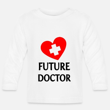 Health Nurse Doctor Hospital Nurse - Baby Longsleeve Shirt