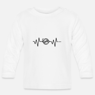 Smoking Heartbeat No Smoking, No Smoking, No Smoking - Baby Longsleeve Shirt