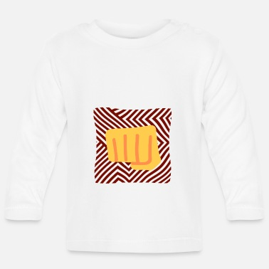 Hits hit in the face - Baby Longsleeve Shirt